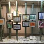 新地ギャラリーで板村英治 作品展『竹のごとく!』開催