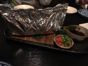 真鱈のホイル焼き