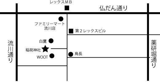 稲荷神社地図