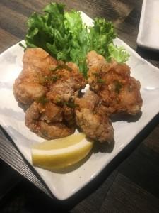 アジア風鶏のから揚げ