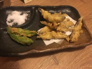 小鰯の天ぷら